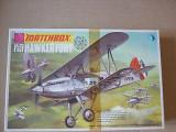 Macheta avion biplan Hawker Fury Fighter Model Kit by MATCHBOX (Original!!!), 1:72