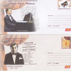Bnk fil Lot 2 Intreguri postale 2009 - Artisti romani