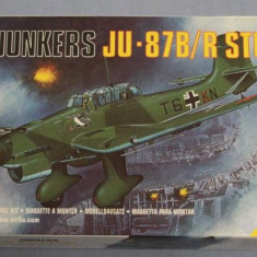 Macheta avion Junkers JU-87b/r Stuka model kit no.03030 Model Kit by AIRFIX - Macheta Aeromodel Academy, 1:72