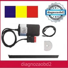 Interfata diagnoza auto tester Delphi DS150 2014.2 Bluetooth CDP + lb. Romana