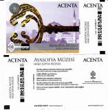 Bilet intrare vizitare muzeul Hagia Sophia Istanbul 2015