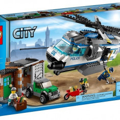 Set Politie Lego City 60046 Helicopter Surveillance, original, sigilat, 5-12 ani