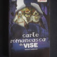 CARTE ROMANEASCA DE VISE - TALMACIRI INTERNATIONALE - Carte ezoterism