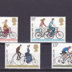 Sport ciclism, Anglia. - Timbre straine, Nestampilat