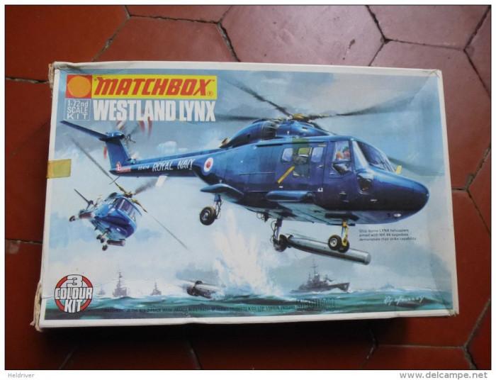 Macheta helicopter Westland Lynx Model Kit by MATCHBOX (Original!!!)