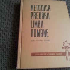 METODICA PREDARII LIMBII ROMANE ION BERCA( citit-scris, citire)