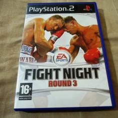 Joc Fight Night Round 3, PS2, original, alte sute de jocuri! - Jocuri PS2 Ea Sports, Sporturi, 16+, Multiplayer