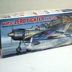 Macheta avion A6M5c Zero Fighter Type 52c Model Kit by ACADEMY (Original!!!) - Macheta Aeromodel Academy, 1:72