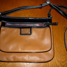 Nine West crossbody - Geanta Dama Nine West, Culoare: Maro, Marime: Mica