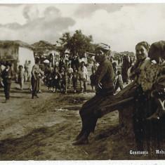 2120 - CONSTANTA - Ethnic, Tatar suburb - old postcard, real PHOTO - used - 1916 - Carte Postala Dobrogea 1904-1918, Circulata, Fotografie