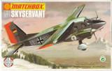 Macheta avion Dornier Skyservant Model Kit by MATCHBOX (Original!!!), 1:72