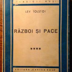 Lev Tolstoi - Razboi si pace - **** [1948]
