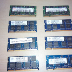 Memorie laptop SODIMM 1Gb DDR2 667Mhz PC2-5300S - Memorie RAM laptop