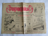 ZIARUL PAPAGALUL DE SATIRA SI HUMOR DIN 25 IULIE 1946
