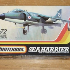 Macheta avion Sea Harrier Model Kit by MATCHBOX (Original!!!) - Macheta Aeromodel Matchbox, 1:72