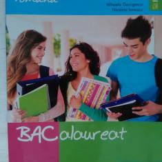 Culegere Bacalaureat LIMBA ROMÂNĂ, 85 Teste BAC, Mihaela Georgescu, Ed. Booklet - Teste Bacalaureat