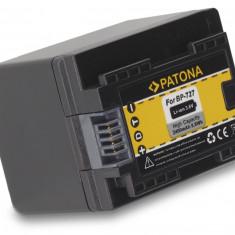 1 PATONA | Acumulator pt Canon LEGRIA HF M52 HF M56 HF R38 R36 R306 BP-727 BP727 - Baterie Aparat foto