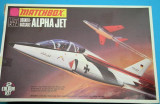 Macheta avion  DORNIER-DASSAULT ALPHA JET No.PK-5 Model Kit by MATCHBOX din 1973