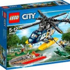Vand Lego City 60067 Helicopter Pursuit, original nou sigilat, 253piese, 5-12 ani