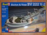 """Macheta hidroavion Blohm & Voss BV 222 V-2 """"Wiking"""" - Revell 04383, scara 1:72"""