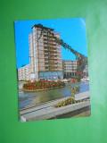 HOPCT 20693  SUCEAVA -VEDERE DIN CENTRU   -JUD SUCEAVA  [CIRCULATA], Printata