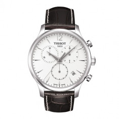 Ceas Tissot Tradition Swiss silver Chronograph