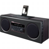 Sistem Audio Yamaha TSX-112 2x15W, CD Player, FM Radio, iPhone/iPod Dock, Negru, Mini-sistem, 0-40 W