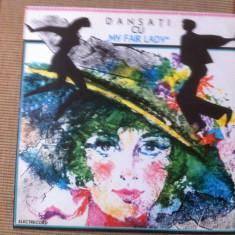 Dansati cu melodii din my fair lady disc vinyl lp muzica ede 0371 electrecord - Muzica soundtrack electrecord, VINIL