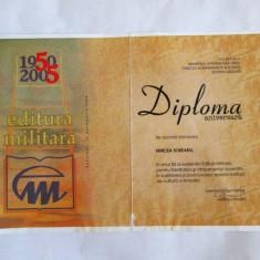 DIPLOMA EDITURA MILITARA