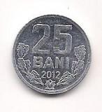 No(3) moneda-MOLDOVA-25 bANI-2012