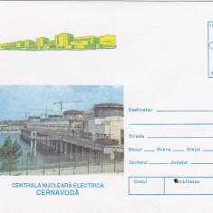 bnk fil Intreg postal 1996 - Centrala nuclear electrica Cernavoda