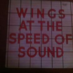 Wings At the speed of sound album disc vinyl lp muzica pop rock 1976 capitol rec - Muzica Rock capitol records, VINIL