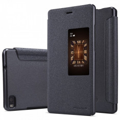 HUSA NILLKIN SPARKLE HUAWEI ASCEND P8 BONUS FOLIE ECRAN - Husa Telefon Nillkin, Huawei P8, Negru