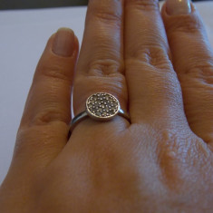 Inel argint zirconii - 264