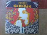 Zenes Karavan 1 Caravana Muzicala disc vinyl lp compilatie muzica folk rock pop, VINIL, electrecord