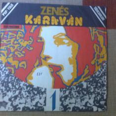 Zenes Karavan Caravana Muzicala 1 muzica folk rock disc vinyl lp electrecord - Muzica Rock & Roll electrecord, VINIL