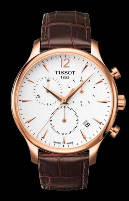 Ceas Tissot Tradition Swiss Gold Chronograph