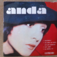 Anda calugareanu butterfly disc vinyl single Muzica Pop electrecord usoara romaneasca 10244, VINIL