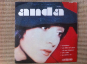 anda calugareanu butterfly disc vinyl 7 single muzica pop usoara slagare 10244