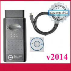 Interfata diagnoza tester auto OP.COM Opel OBD2 USB - lb. Engleza 2014 ! - Interfata diagnoza auto
