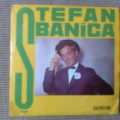 STEFAN BANICA gioconda se marita disc single VINYL Muzica Pop electrecord usoara romaneasca, VINIL