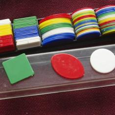 Fise / Jetoane de la un joc Monopoly din perioada comunista - cutie originala ! - Joc colectie