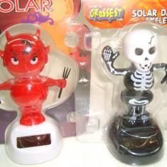 Set 2 jucarii solare - dansatoare, modele Halloween - h 11 cm - Figurina Animale Altele, 4-6 ani, Unisex
