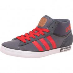 Adidasi Adidas Originals Mens VC 600 Trainers marimea 42 - Ghete barbati Adidas, Culoare: Gri, Textil