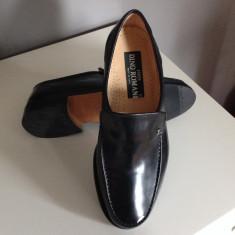 Pantofi eleganti barbati, Dino Romani, made in Italy, piele, masura 40