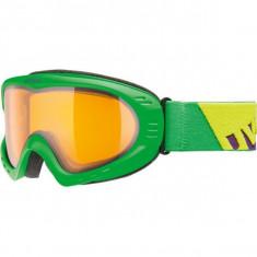 Ochelari Ski Snowboard Uvex Cevron Green Mat LaserGoldlite S1