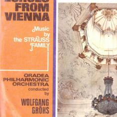 Vinil - Familia Strauss - Muzica Opera electrecord