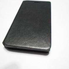 HUSA HUAWEI P7 MINI - Husa Telefon, Negru, Piele, Cu clapeta