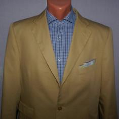 Costum barbati din bumbac PURO COTONE marimea 50 culoarea camel, 3 nasturi, Normal, Marime talie: 40