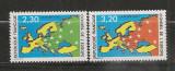 Franta.1990 Consiliul Europei-Harta  SF.1116